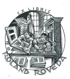 ExLibris Buchdrucker