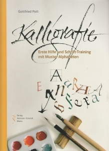 Kalligrafie Gottfried Pott