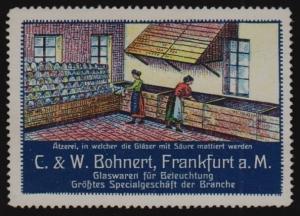 Reklamemarke Bohnert