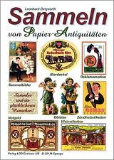 Sammeln Papier-Antiquitäten