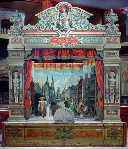 Quelle: Toy Theatre / Urheber: Derby Museums