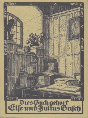 Exlibris Maria La Roche