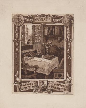 Exlibris P. Voigt