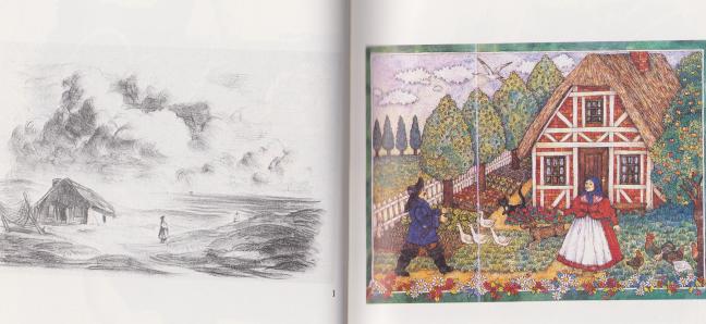Blick ins Buch: Von dem Fischer un syner Fru