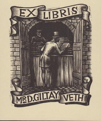 Exlibris Nico Bulder Artikelbild