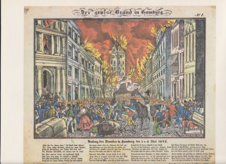 Der große Brand in Hamburg