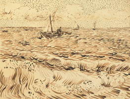 Fishing boats at Saintes-Maries-de- la-mer