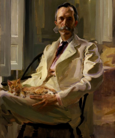cecilia-beaux-man-with-cat