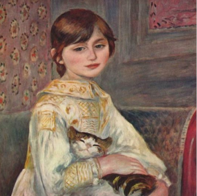 pierre-auguste-renoir-portrait-of-mademoiselle-julie-manet-with-cat