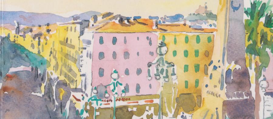 Patrick Colcomb: Carnets Marseillais – MarseillesSketchbook