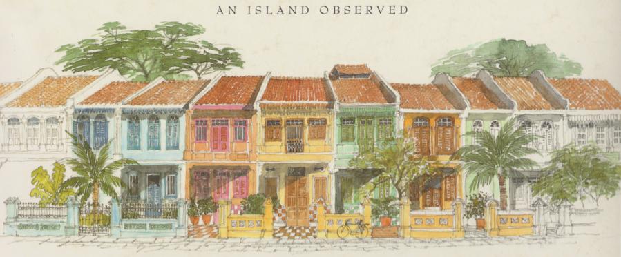 Graham Byfield: SingapurSkizzenbuch