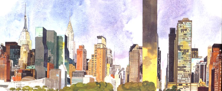 New York Sketchbook – Skizzenbuch von Fabrice Moireau und JeromeCharyn