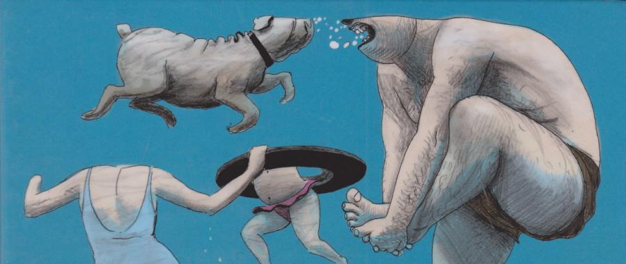 Rein in die Fluten! – Graphic Novel von David Prudhomme & PascalRabaté