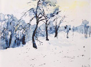 """Hundertzehn Obstbäume erfroren uns ..."""